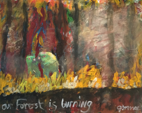 OUR FOREST IS BURNING